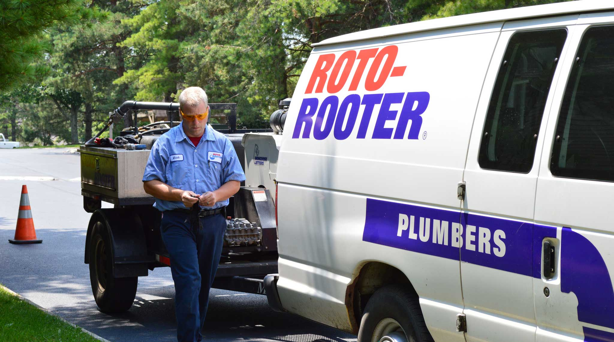 Trenchless Sewer Repair and plumber service