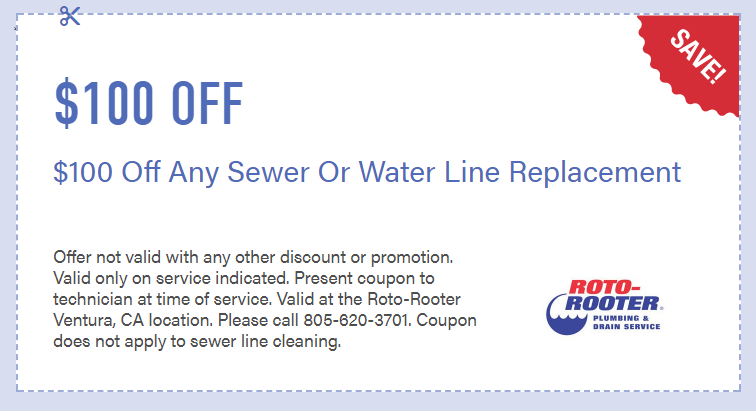 coupon plumber rotorooter water line repair