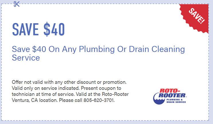 coupon plumber rotorooter sewer repair