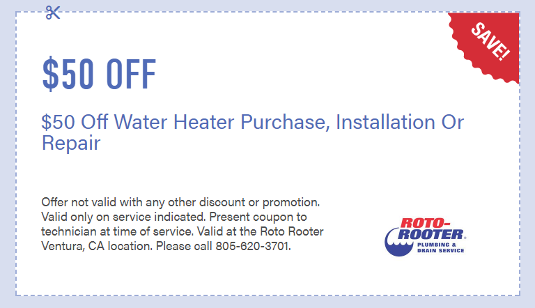 water heater installation coupon cheap
